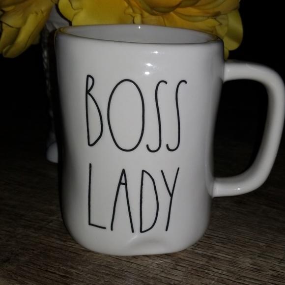 Rae Dunn Boss Lady Mug Nwt